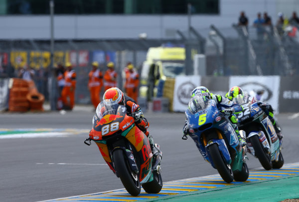 2017 Moto2 Championship - Round 5 Le Mans, France Sunday 21 May 2017 Ricard Cardus, Red Bull KTM Ajo World Copyright: Gold & Goose Photography/LAT Images ref: Digital Image 671769