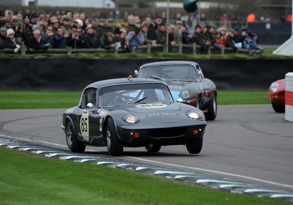 2017 75th Members Meeting Goodwood Estate, West Sussex,England 18th - 19th March 2017 Graham Hill Trophy Richard Meaden Elan World Copyright : Jeff Bloxham/LAT Images Ref : Digital Image