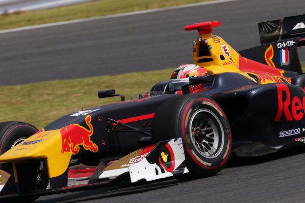 2017 Japanese Super Formula. Autopolis, Japan. 8th - 9th September 2017. Rd 5. Winner Pierre Gasly ( #15 TEAM MUGEN SF14 ) action World Copyright: Masahide Kamio / LAT Images 2017_SF_Rd5_002