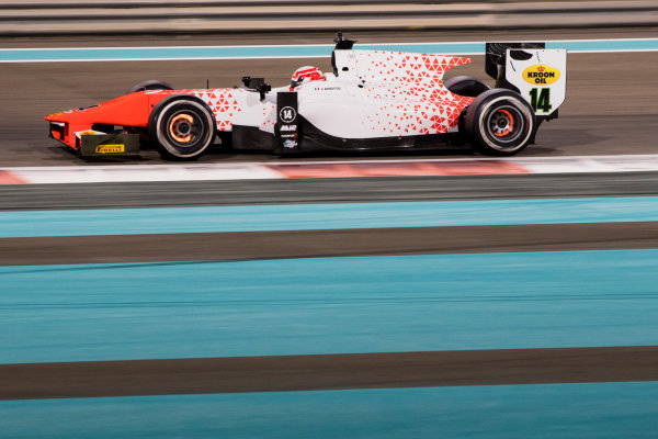 2017 FIA Formula 2 Test 3. Yas Marina Circuit, Abu Dhabi, United Arab Emirates. Saturday 2 December 2017. Ralph Boschung (CHE, MP Motorsport).  Photo: Zak Mauger/FIA Formula 2. ref: Digital Image _O3I6316