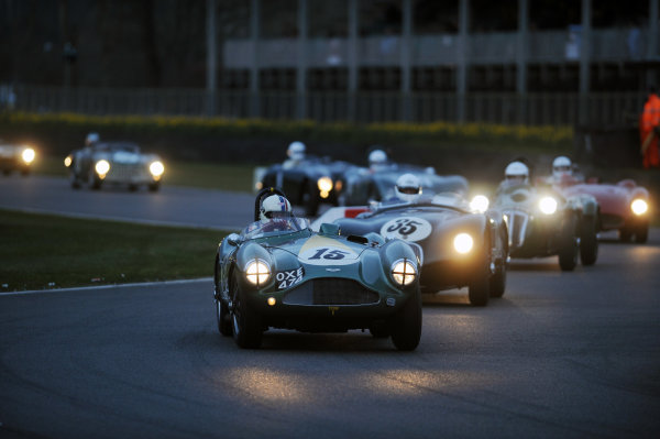 2016 74th Members Meeting Goodwood Estate, West Sussex,England 19th - 20th March 2016 Race 12 Peter Collins Trophy Steve Boultbe Brooks Aston Martin World Copyright : Jeff Bloxham/LAT Photographic Ref : Digital Image