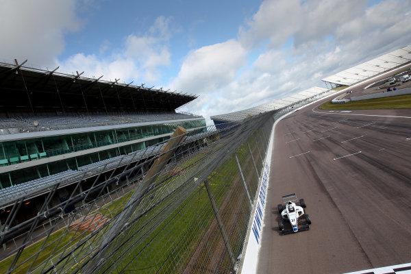 2016 BRDC British Formula 3 Championship, Rockingham, Northamptonshire.  30th April - 1st May 2016. Sisa Ngebulana (RSA) HHC Motorsport BRDC F3. World Copyright: Ebrey / LAT Photographic.