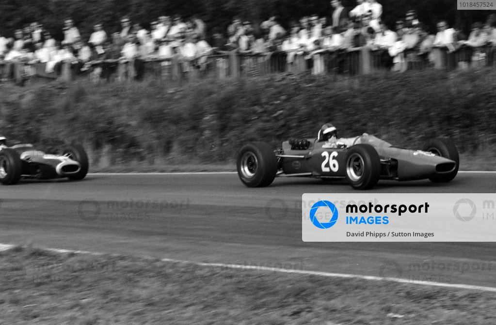 Piers Courage, McLaren M4A Ford.
