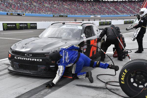 #74: Mike Harmon, Mike Harmon Racing, Chevrolet Camaro Time For A Hero