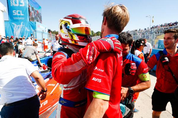 Pascal Wehrlein (DEU), Mahindra Racing, celebrates