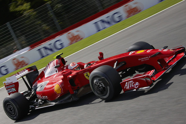 Kimi Räikkönen, Ferrari F60.