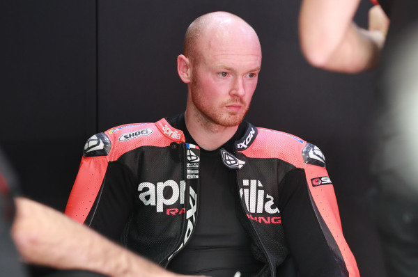 Bradley Smith, Aprilia Racing Team Gresini.