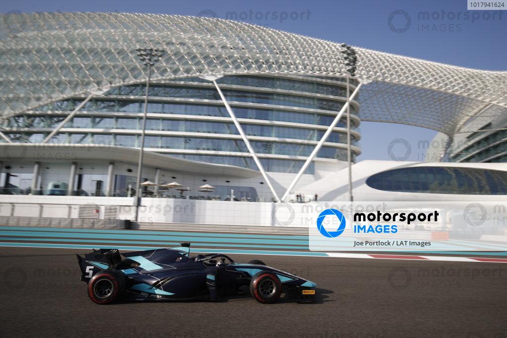 Abu Dhabi December testing