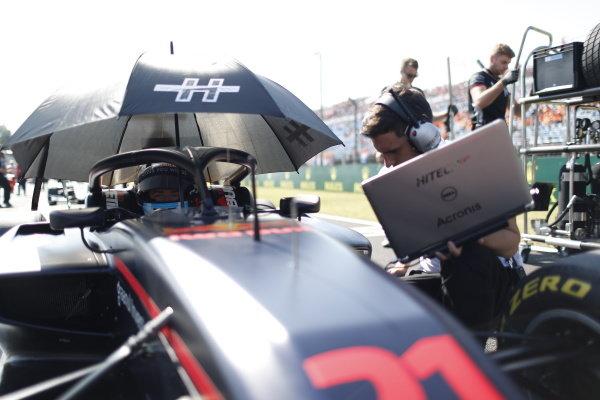 HUNGARORING, HUNGARY - AUGUST 04: Juri Vips (EST, Hitech Grand Prix) during the Hungaroring at Hungaroring on August 04, 2019 in Hungaroring, Hungary. (Photo by Sam Bloxham / LAT Images / FIA F3 Championship)