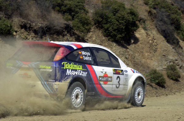 2001 World Rally ChampionshipCyprus Rally, June 1-3, 2001Carlos Sainz on Stage 8Photo: Ralph Hardwick/LAT