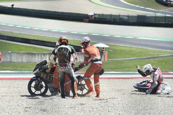 Romano Fenati, Team O, Andrea Migno, Bester Capital Dubai crash.