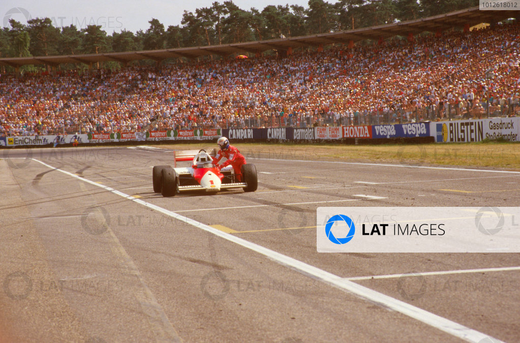 1986 German Grand Prix.