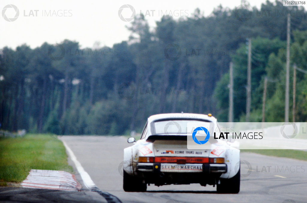 Le Mans, France. 9th - 10th June 1979. Georges Bourdillat / Pascal Ennequin / Alain-Michel Bernhard (Porsche 934), 16th position, action.World Copyright: LAT Photographic.Ref: 35mm Transparency Image.