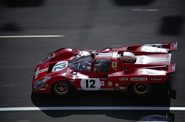 Sam Posey / Tony Adamowicz, North American Racing Team, Ferrari 512 M.