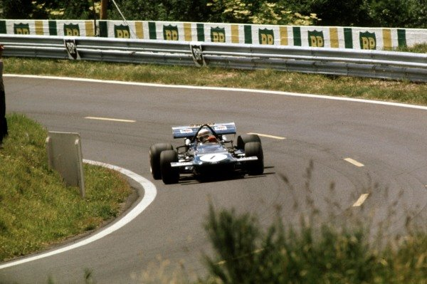 1970 French Grand Prix.Clermont-Ferrand, France.3-5 July 1970.Jackie Stewart (March 701 Ford) 9th position.Ref-70 FRA 37.World Copyright - LAT Photographic