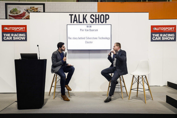 Pim Van Baarsen describes the story behind the Silverstone Technology Centre on the Talk Shop stage
