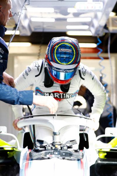 Oliver Rowland, Williams FW41 Mercedes.