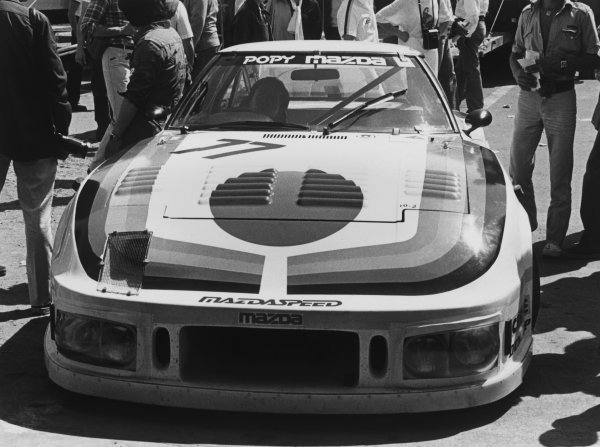 Le Mans, France. 9th - 10th June 1979 Tetsu Ikuzawa/Yojiro Terada/Claude Buchet (Mazda RX-7 252i), DNQ, in the paddock, action. World Copyright: LAT Photographic Ref: Autosport Used Pic.