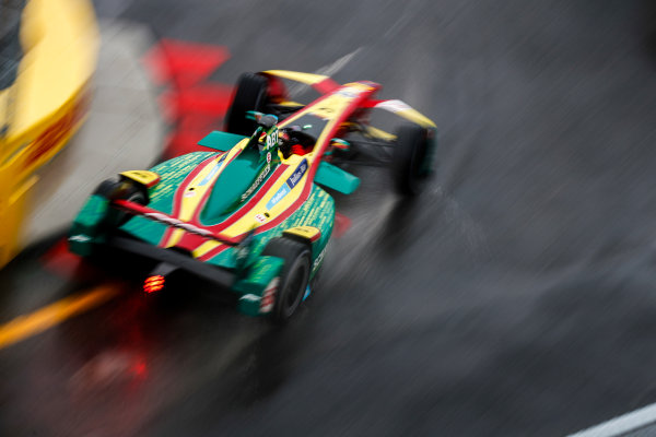 2016/2017 FIA Formula E Championship. Round 9 - New York City ePrix, Brooklyn, New York, USA. Friday 14 July 2017. Daniel Abt (GER), ABT Schaeffler Audi Sport, Spark-Abt Sportsline, ABT Schaeffler FE02. Photo: Sam Bloxham/LAT/Formula E ref: Digital Image _J6I2825