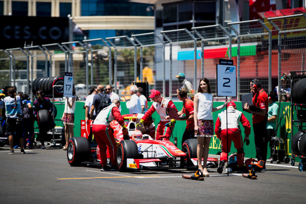 2017 FIA Formula 2 Round 4. Baku City Circuit, Baku, Azerbaijan. Saturday 24 June 2017. Antonio Fuoco (ITA, PREMA Racing)  Photo: Zak Mauger/FIA Formula 2. ref: Digital Image _56I7282