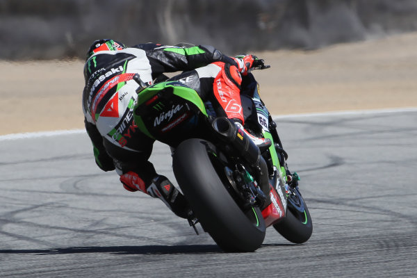 2017 Superbike World Championship - Round 8 Laguna Seca, USA. Friday 7 July 2017 Tom Sykes, Kawasaki Racing World Copyright: Gold and Goose/LAT Images ref: Digital Image 682945