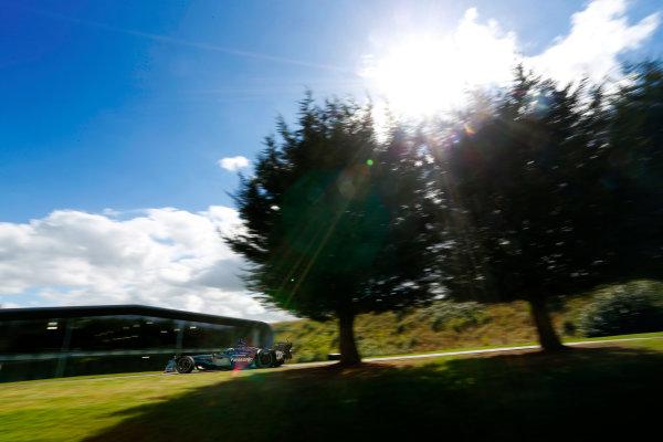 Jaguar Racing Official Formula E Launch Jaguar Heritage Collections Centre, Gaydon, UK Thursday 8 September 2016 Ho-Pin Tung drives the new Jaguar Racing Formula E car. World Copyright: Andrew Ferraro/LAT Photographic ref: Digital Image _14P5036