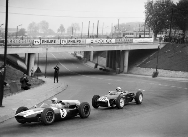 Heysel, Brussels, Belgium. 9th April 1961.