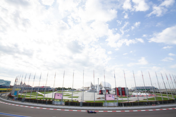 SOCHI AUTODROM, RUSSIAN FEDERATION - SEPTEMBER 27: Devlin DeFrancesco (CAN, Trident) during the Sochi at Sochi Autodrom on September 27, 2019 in Sochi Autodrom, Russian Federation. (Photo by Joe Portlock / LAT Images / FIA F3 Championship)