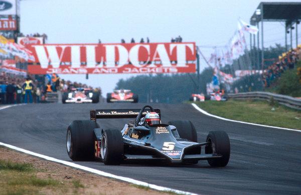1978 Belgian Grand Prix.Zolder, Belgium.19-21 May 1978.Mario Andretti (Lotus 79 Ford) 1st position.Ref-78 BEL 02.World Copyright - LAT Photographic