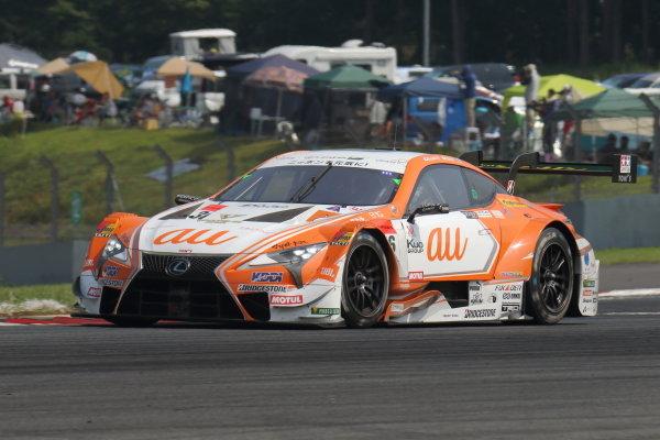 GT500 Winner Kazuki Nakajima & Yuhi Sekiguchi, Lexus Team au TOM'S Lexus LC500.