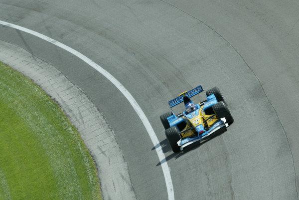 2002 USA Grand Prix - PracticeIndianapolis, USA, 27th September 2002World Copyright: Steve Etherington/LATref: Digital Image Only