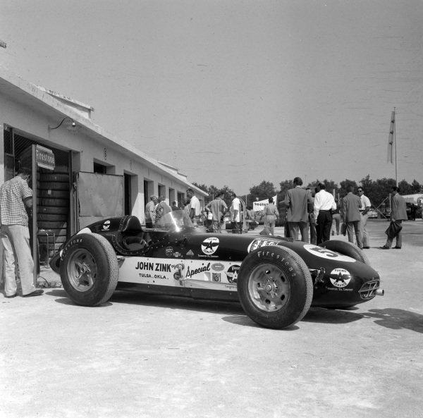 The John Zink Racing-entered Watson Offenhauser.