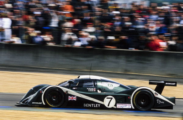 Martin Brundle / Guy Smith / Stéphane Ortelli, Team Bentley, Bentley EXP Speed 8.