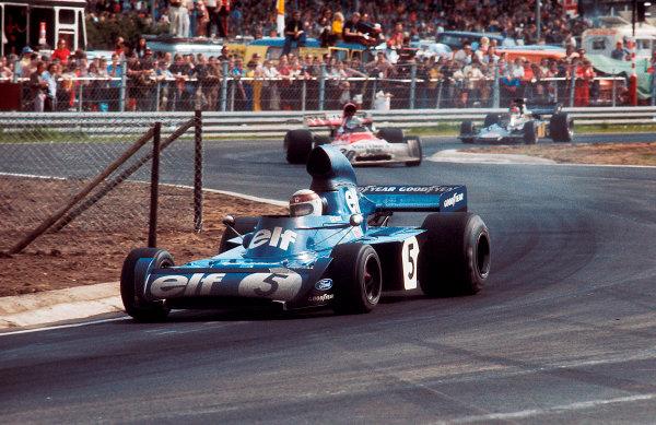1973 Belgian Grand Prix.Zolder, Belgium.18-20 May 1973.Jackie Stewart (Tyrrell 006 Ford) 1st position.Ref-73 BEL 06.World Copyright - LAT Photographic