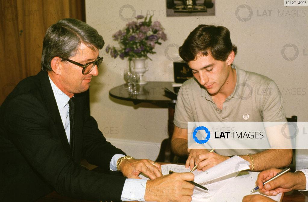 1985 Formula 1 World Championship.