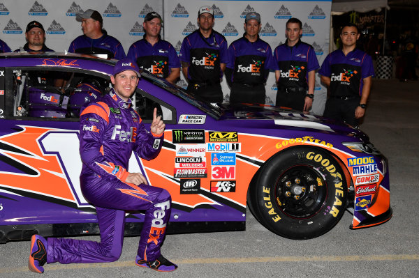 Monster Energy NASCAR Cup Series Ford EcoBoost 400 Homestead-Miami Speedway, Homestead, FL USA Friday 17 November 2017 Denny Hamlin, Joe Gibbs Racing, FedEx Express Toyota Camry World Copyright: Rusty Jarrett LAT Images