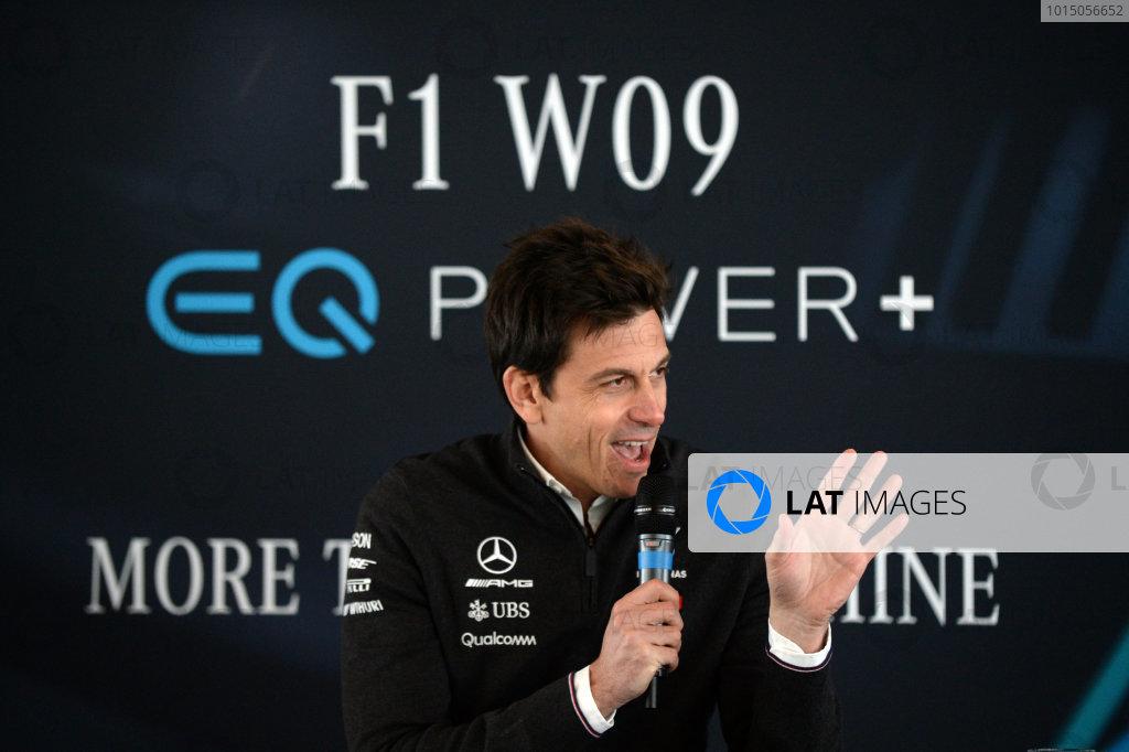 Mercedes-AMG F1 2018 Launch