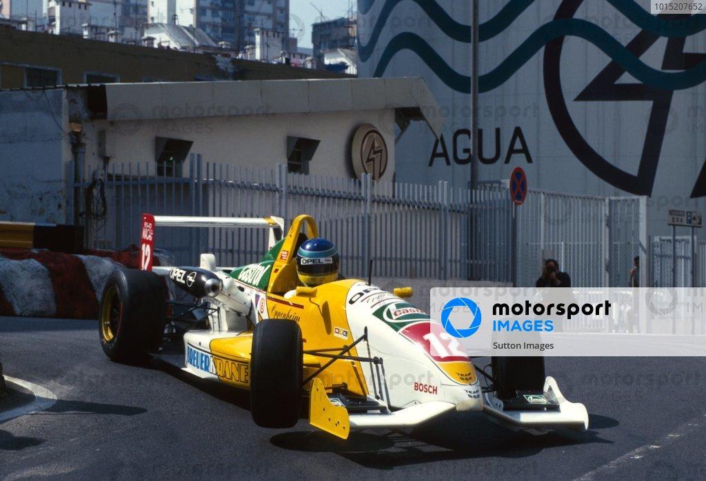 Nick Heidfeld (GER), Dallara-Opel, Finished 6th.Macau Grand Prix,  Circuito da Guia, Macau.17 November 1996