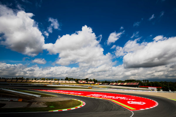 2017 GP3 Series Round 1.  Circuit de Catalunya, Barcelona, Spain. Thursday 11 May 2017. A view of the circuit. Photo: Zak Mauger/GP3 Series Media Service. ref: Digital Image _56I6669