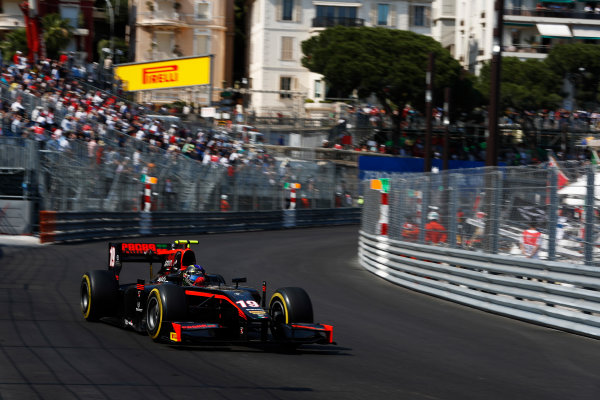 2017 FIA Formula 2 Round 3. Monte Carlo, Monaco. Saturday 27 May 2017. Johnny Cecotto Jr. (VEN, Rapax)  Photo: Zak Mauger/FIA Formula 2. ref: Digital Image _X4I9525