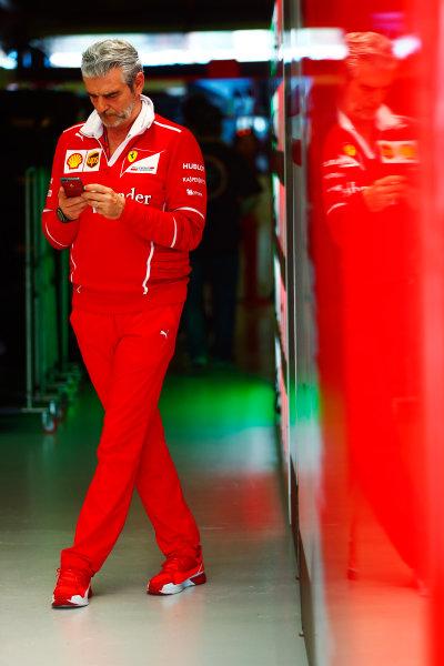 Albert Park, Melbourne, Australia. Sunday 26 March 2017. Maurizio Arrivabene, Team Principal, Ferrari.  World Copyright: Sam Bloxham/LAT Images ref: Digital Image _J6I3791