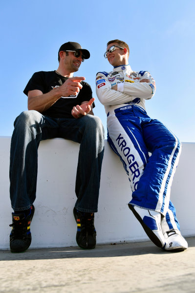 2017 Monster Energy NASCAR Cup Series Camping World 500 Phoenix International Raceway, Avondale, AZ USA Friday 17 March 2017 AJ Allmendinger and Max Papis World Copyright: Nigel Kinrade/LAT Images ref: Digital Image 17PHX1nk02687