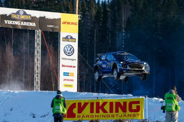 2017 FIA World Rally Championship, Round 02, Rally Sweden, February 09-12, 2017, Ott Tanak, Ford, Action, Worldwide Copyright: McKlein/LAT
