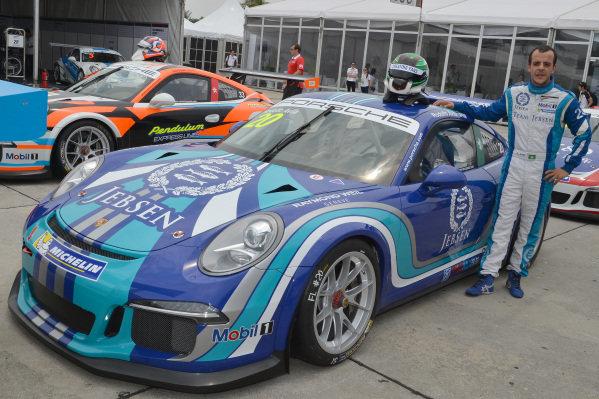 Rodolfo Avila (MAC) Team Jebsen. Porsche Carrera Cup Asia, Sepang, Malaysia, 28-30 March 2014.