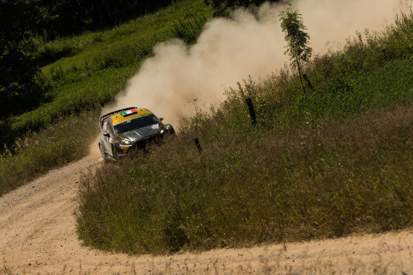 Lorenzo Bertelli (ITA) / Giovanni Bernacchini (ITA) Ford Fiesta RS WRC at FIA World Rally Championship, Rd7, Lotos 71st Rally Poland, Day One, Mikolajki, Poland, Friday 3 July 2015.
