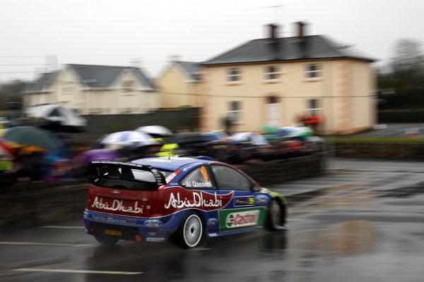 Round 1, Rally Ireland, 29th Jan - 1st Feb 2009, Khalid Al Qassimi, Ford, ActionWorldwide Copyright: McKlein/LAT