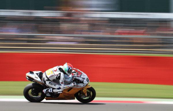 Silverstone, England. 29th-31st July 2011. Jakub Smrz, Ducati. Action. World Copyright: Kevin Wood/LAT Photographic. ref: Digital Image IMG_5045a