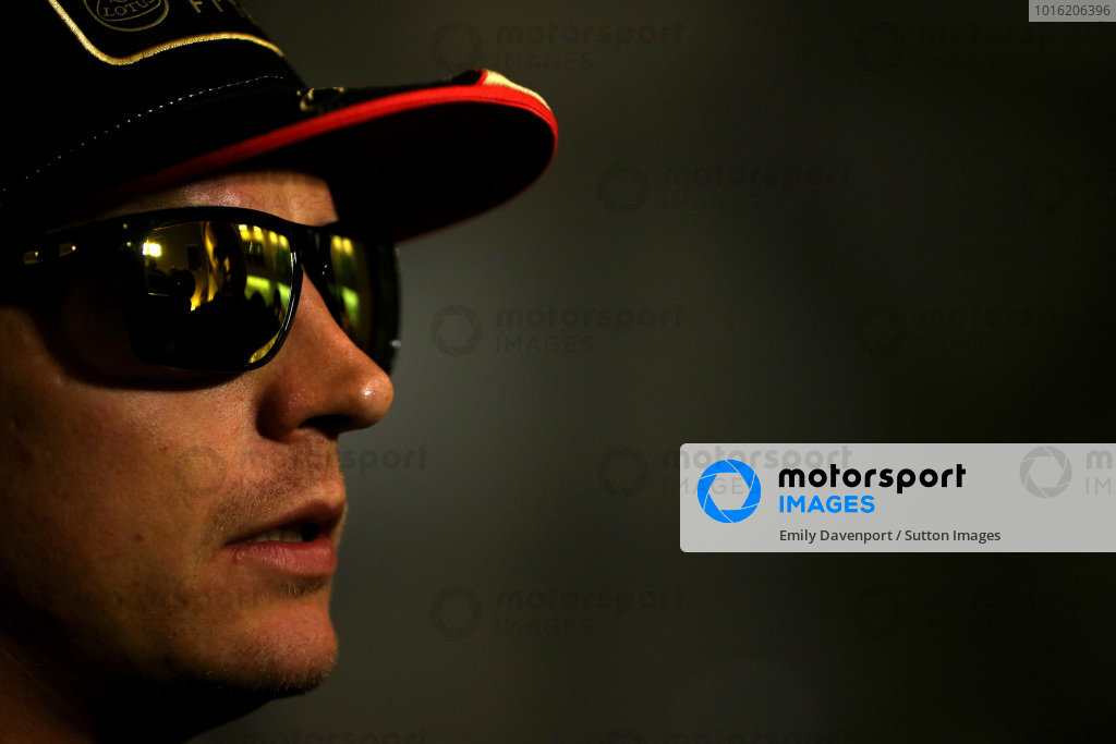 Kimi Raikkonen (FIN) Lotus F1. Formula One World Championship, Rd17, Abu Dhabi Grand Prix, Practice, Yas Marina Circuit, Abu Dhabi, UAE, Friday 1 November 2013. BEST IMAGE