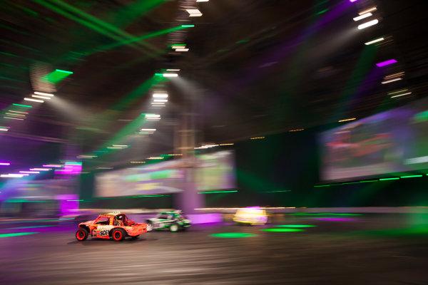 Autosport International Exhibition. National Exhibition Centre, Birmingham, UK. Sunday 11 January 2015. The Live Action Arena. World Copyright: Zak Mauger/LAT Photographic. ref: Digital Image _P7T0770