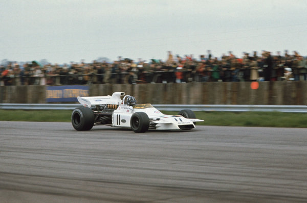 1972 International Trophy.  Silverstone, England. 23rd April 1972.  Graham Hill, Brabham BT37 Ford, 7th position.  Ref: 72IT01. World Copyright: LAT Photographic